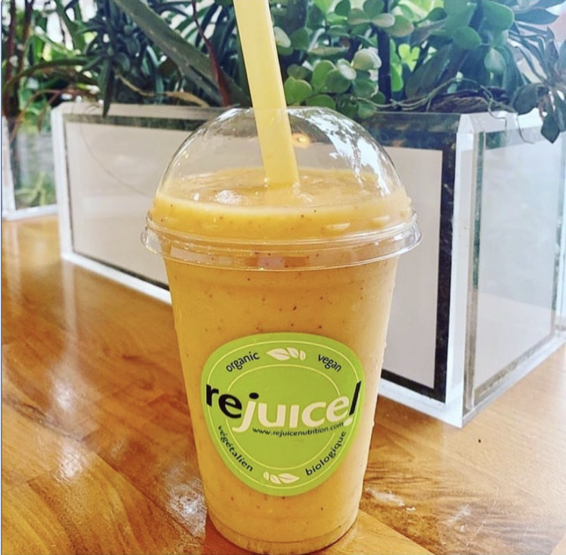 Rejuice' The Yellow Smoothie